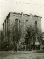 La synagogue en 1947.